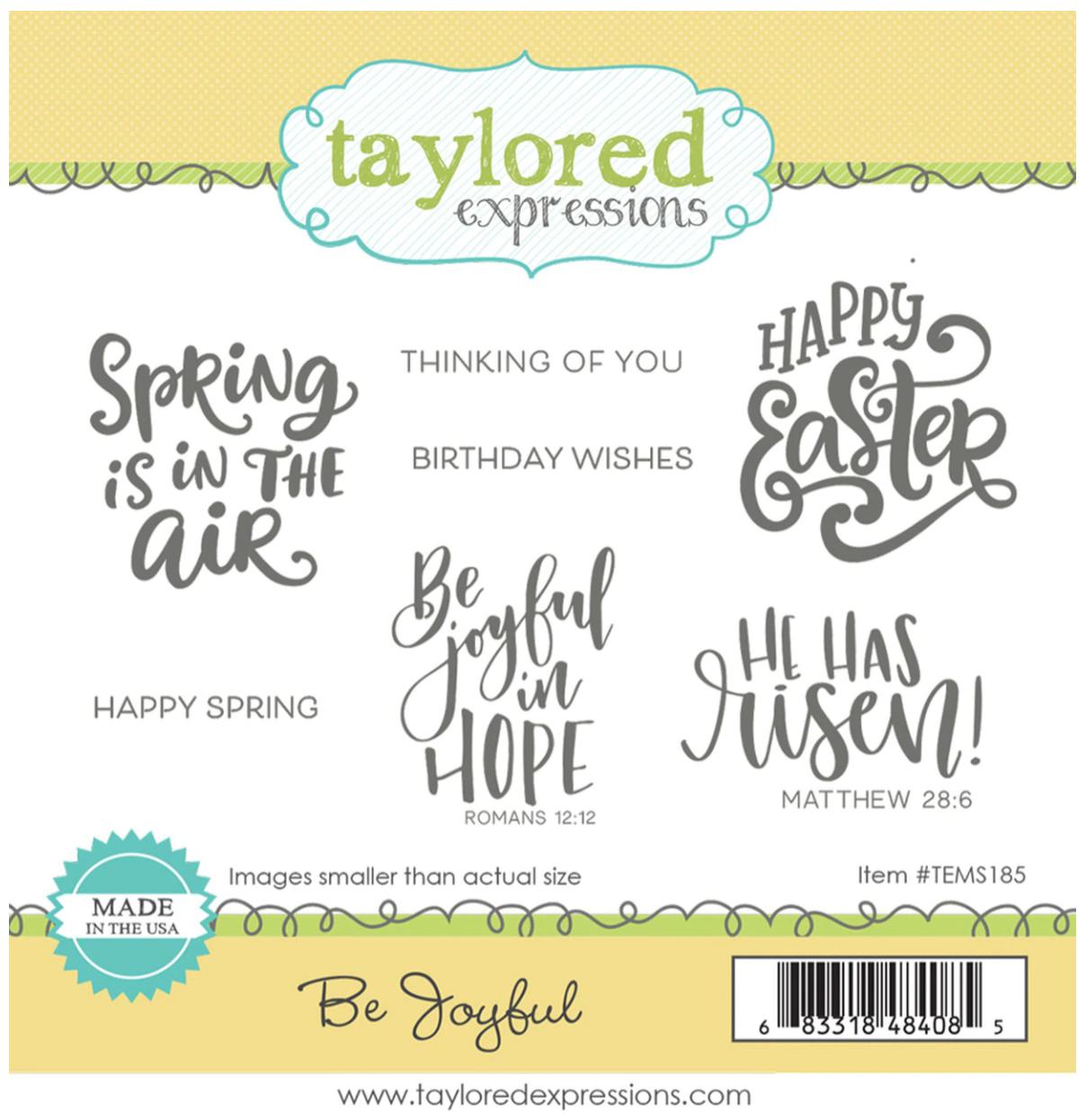 TE Be Joyful Stamp