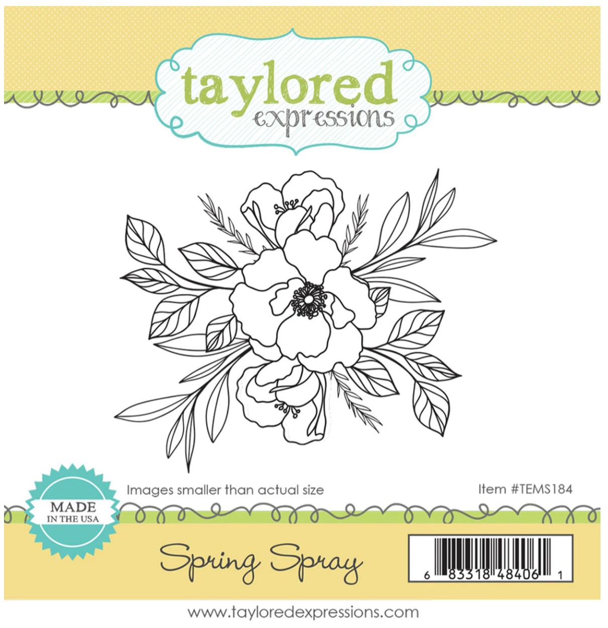 TE Spring Spray Stamp