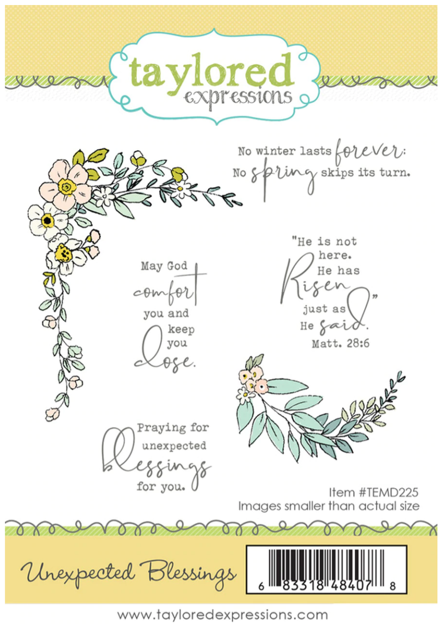 TE Unexpected Blessings Stamp
