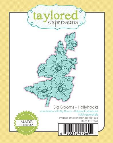 Big Blooms-Hollyhocks Die