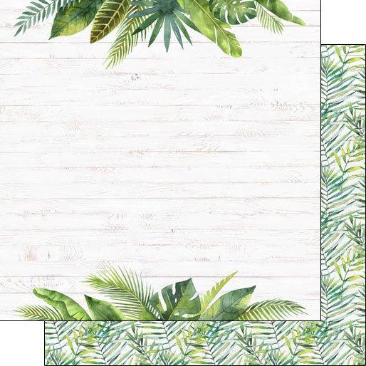 SC Vacay Palm Tree & Flowers