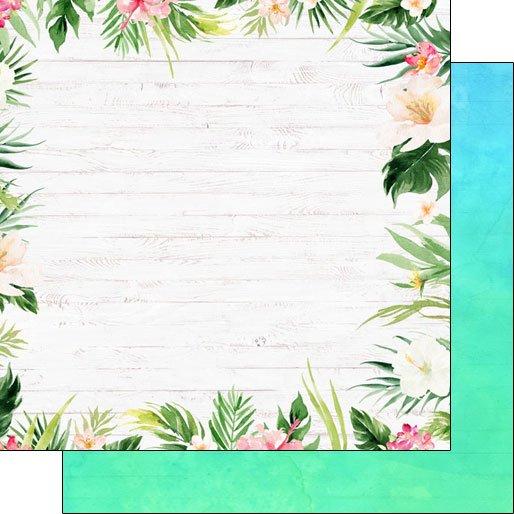 SC Vacay Floral Border