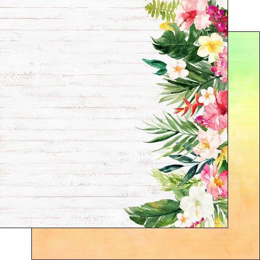 SC Vacay Floral Edge