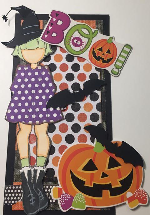 Lil Witch - Halloween PUmpkin