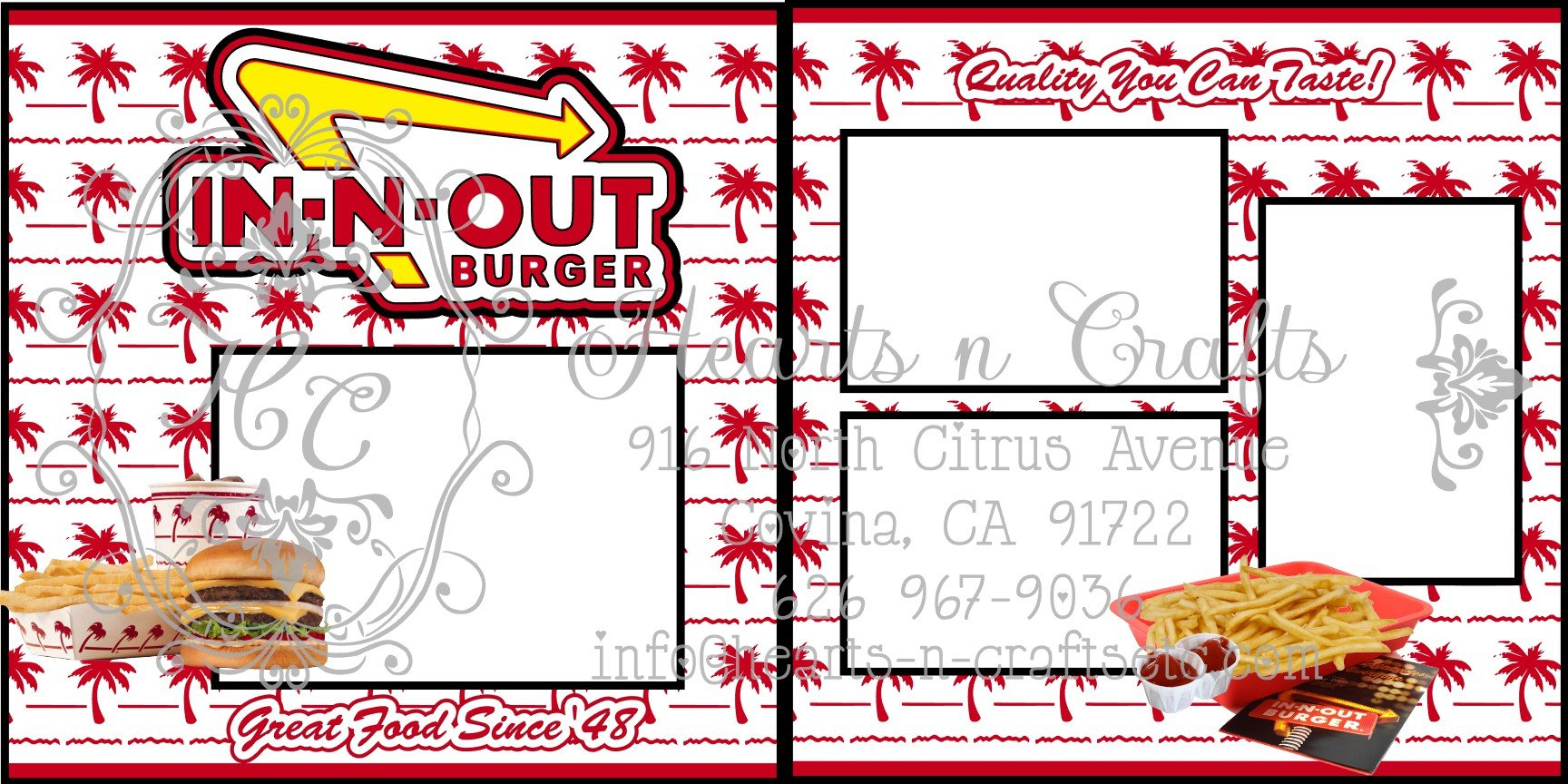 In-n-Out 2 Page Layout