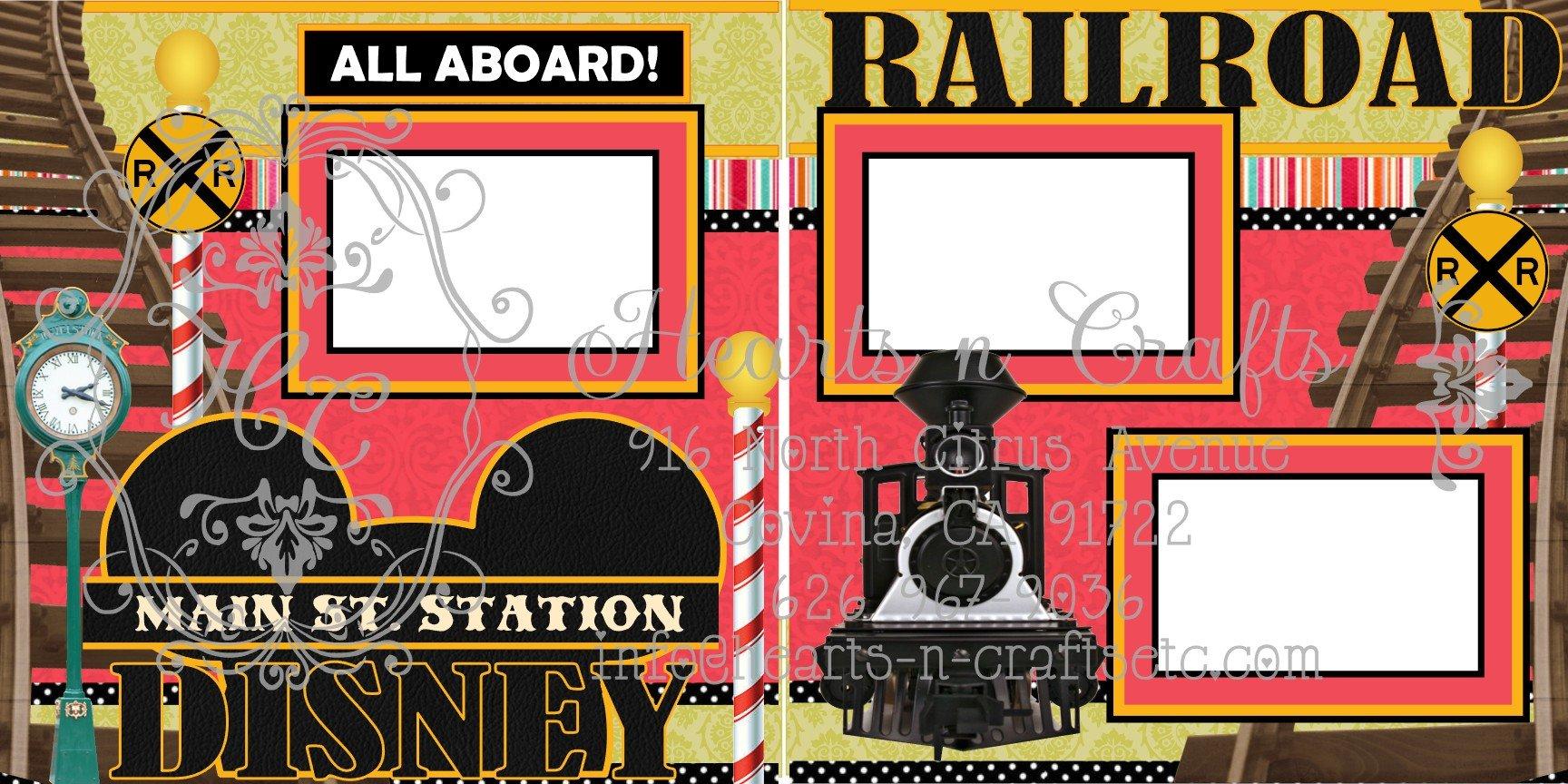 Railroad 2 Page Layout