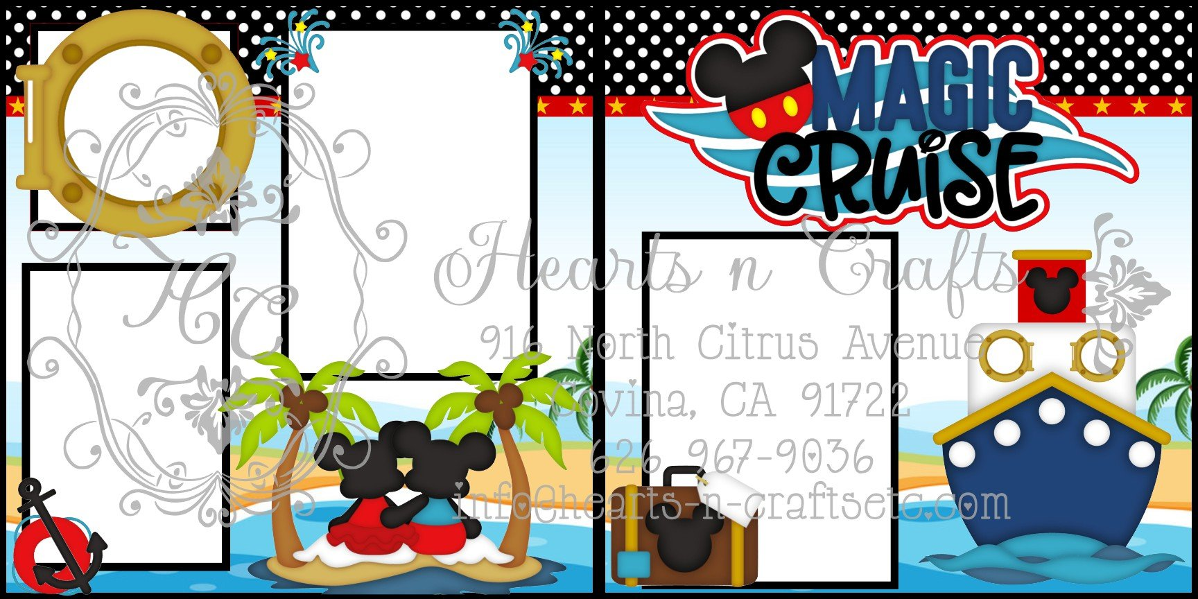 Magical Cruise 2 Page Layout