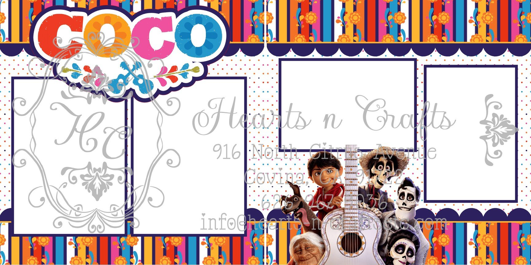 Coco 2  Page Layout