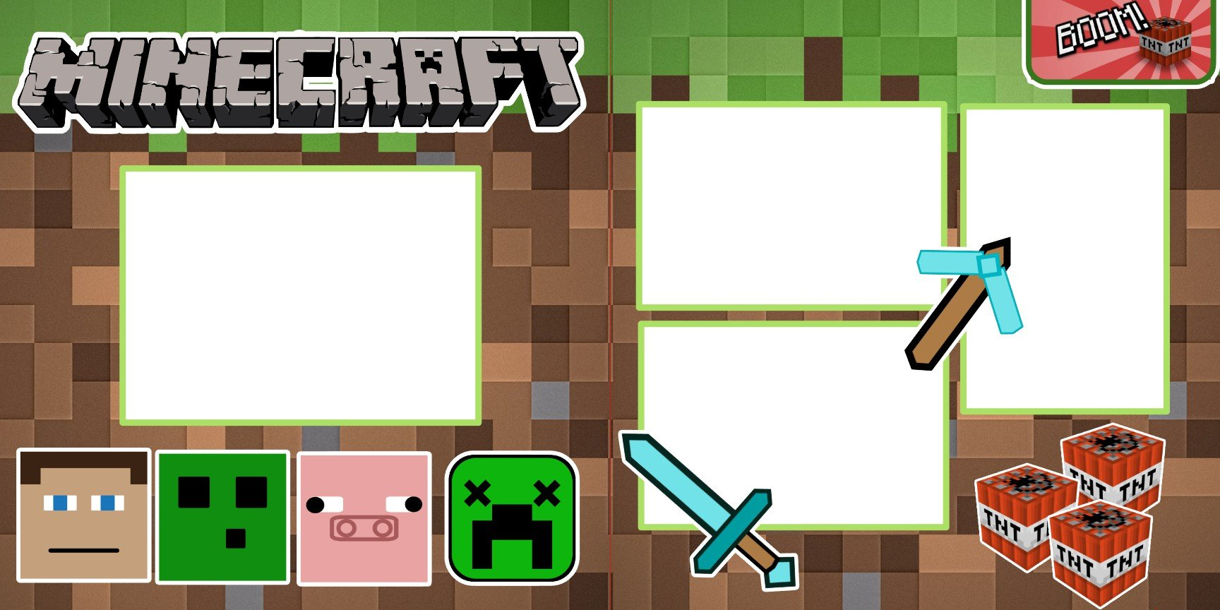 Minecraft 2 Page Layout