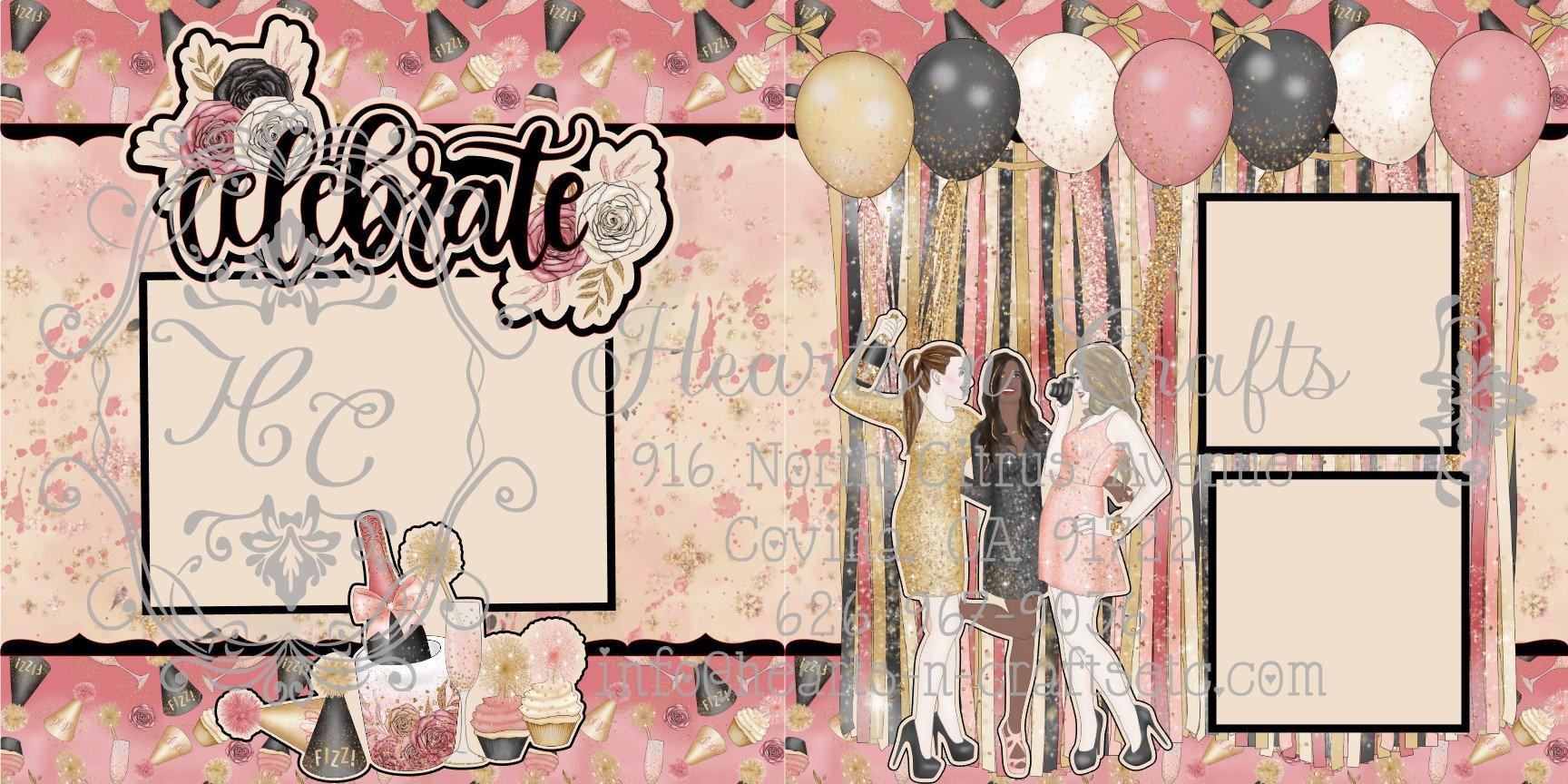 Celebration 2 Page Layout