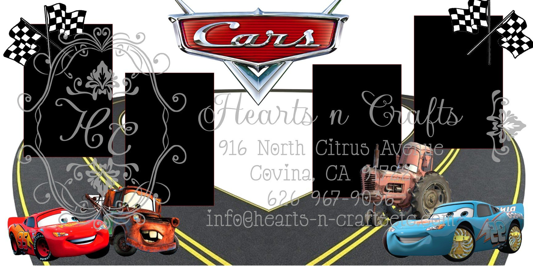 Cars 2 Page Layout