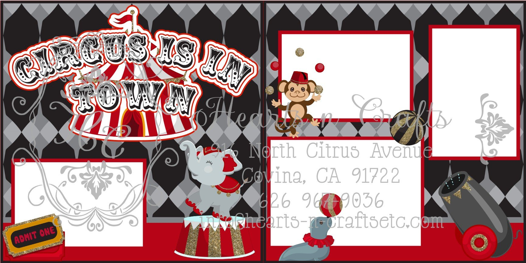 Circus 2 Page Layout