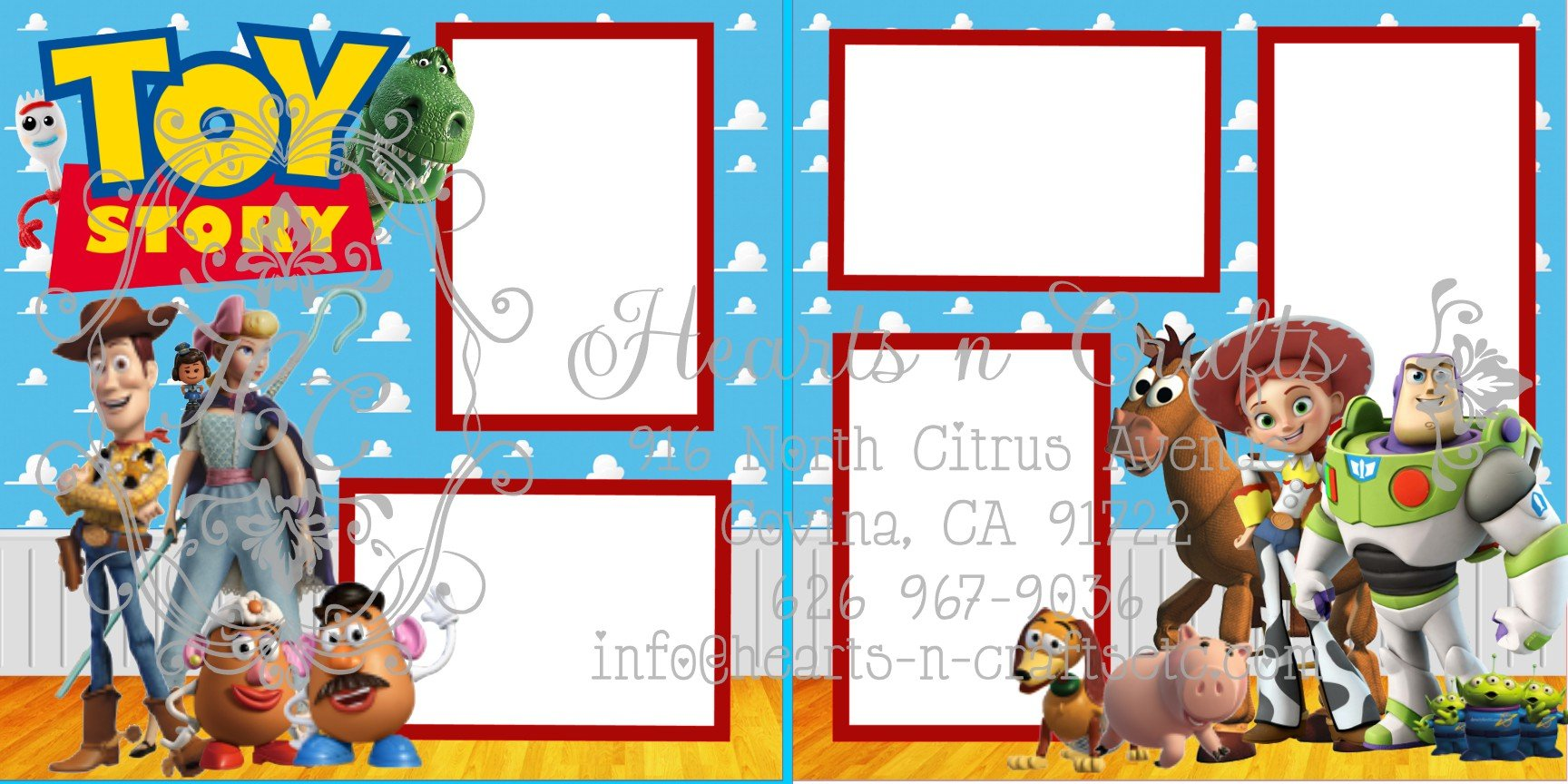 Toy Story #2 - 2 Page Layout