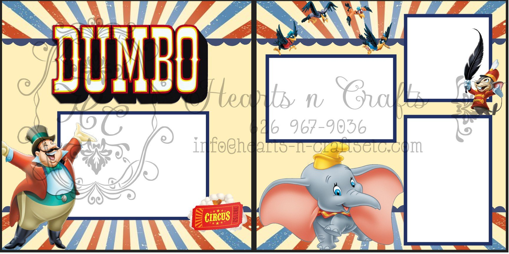 Dumbo 2 page Layout