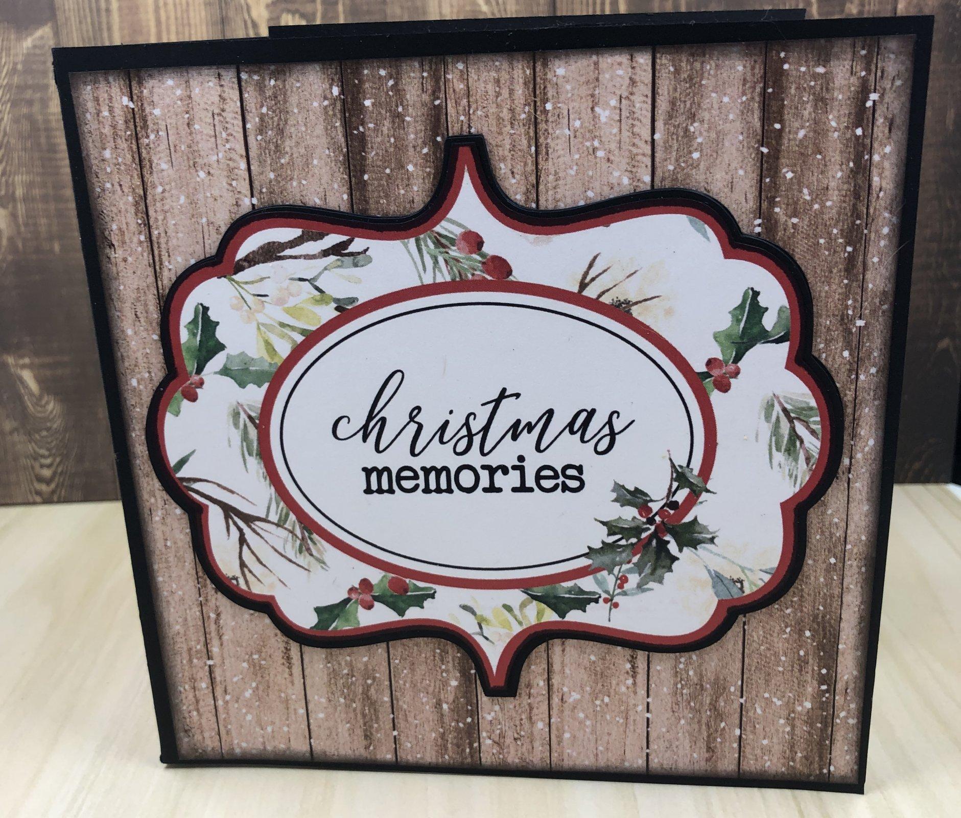 Christmas Memories 6x6 Mini Album