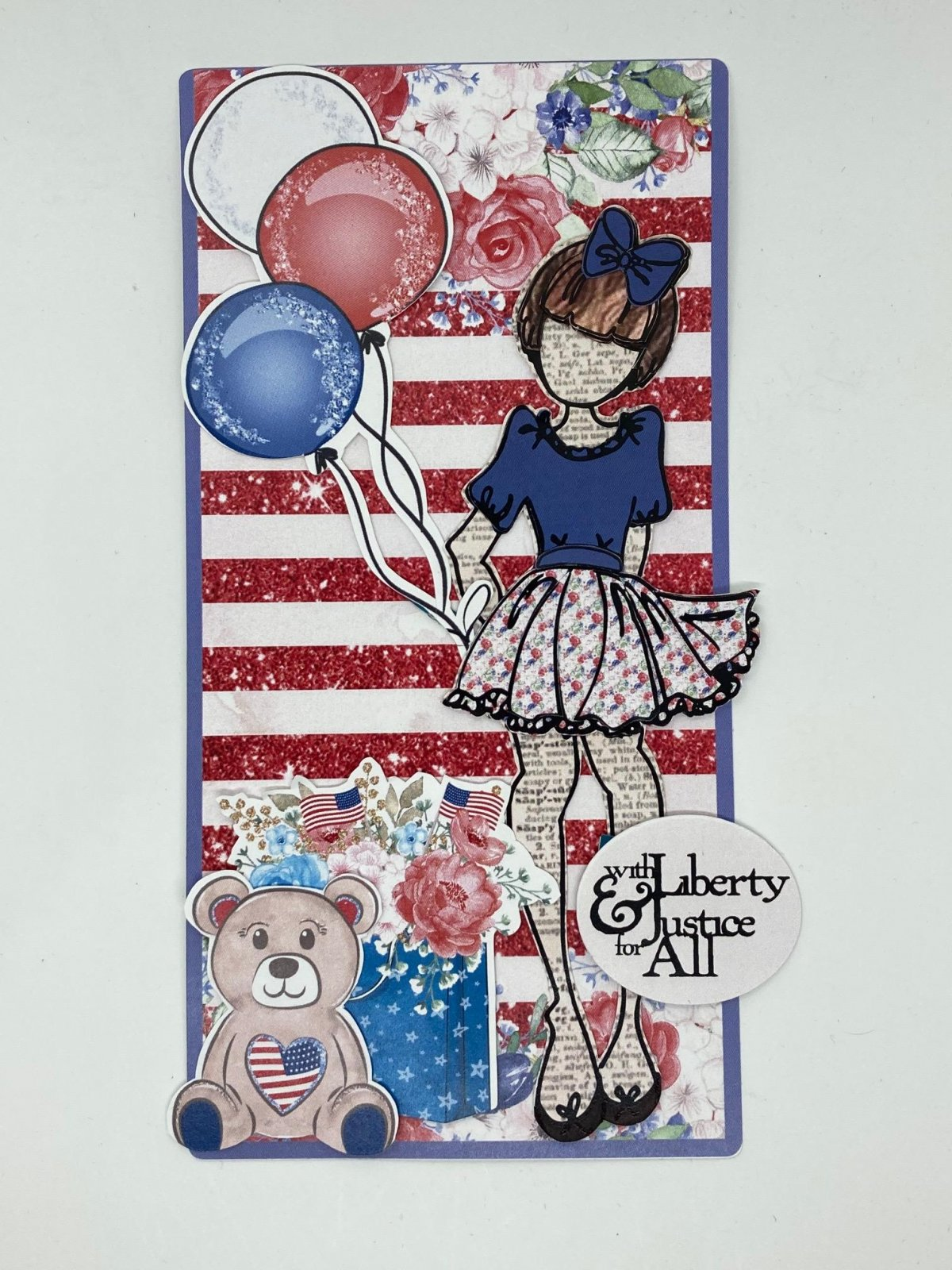 Julie Nutting tag kit - 4th of July