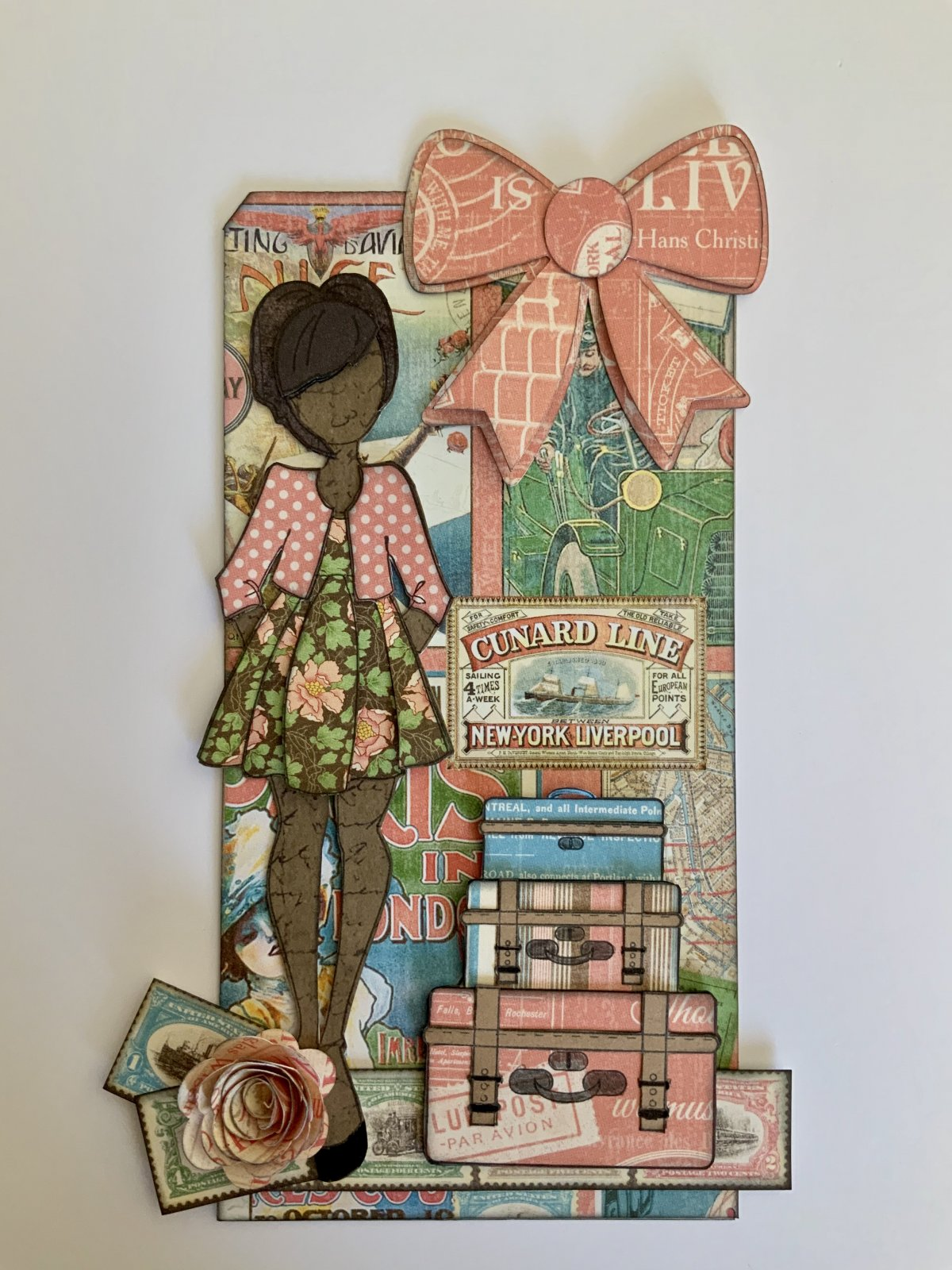 Julie Nutting Doll Tag/G45 Come Away with Me