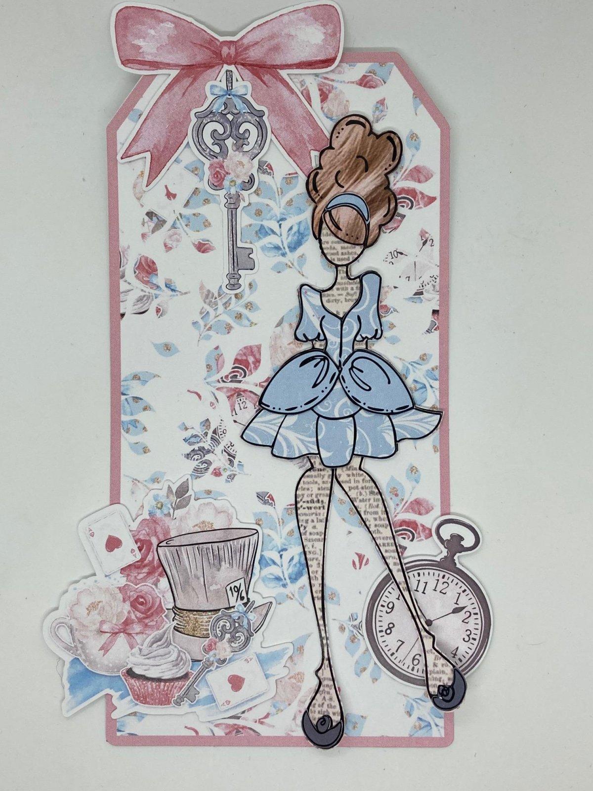 Julie Nutting tag kit - Alice in Wonderland