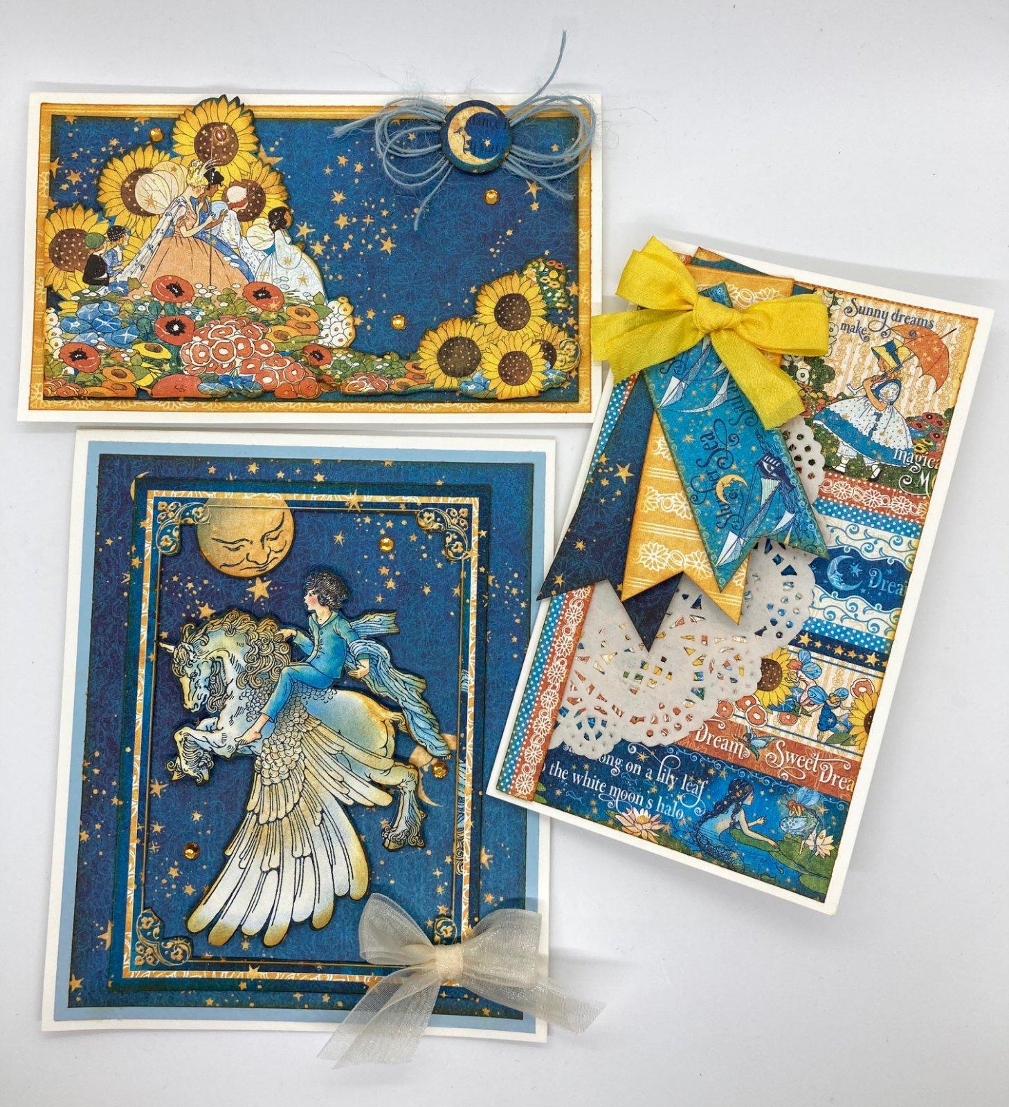 3 Card Kit - Graphic 45 Dreamland