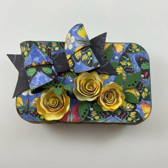 Altered Altoid Tin Kit - Blue Butterfly/G45 Flutter