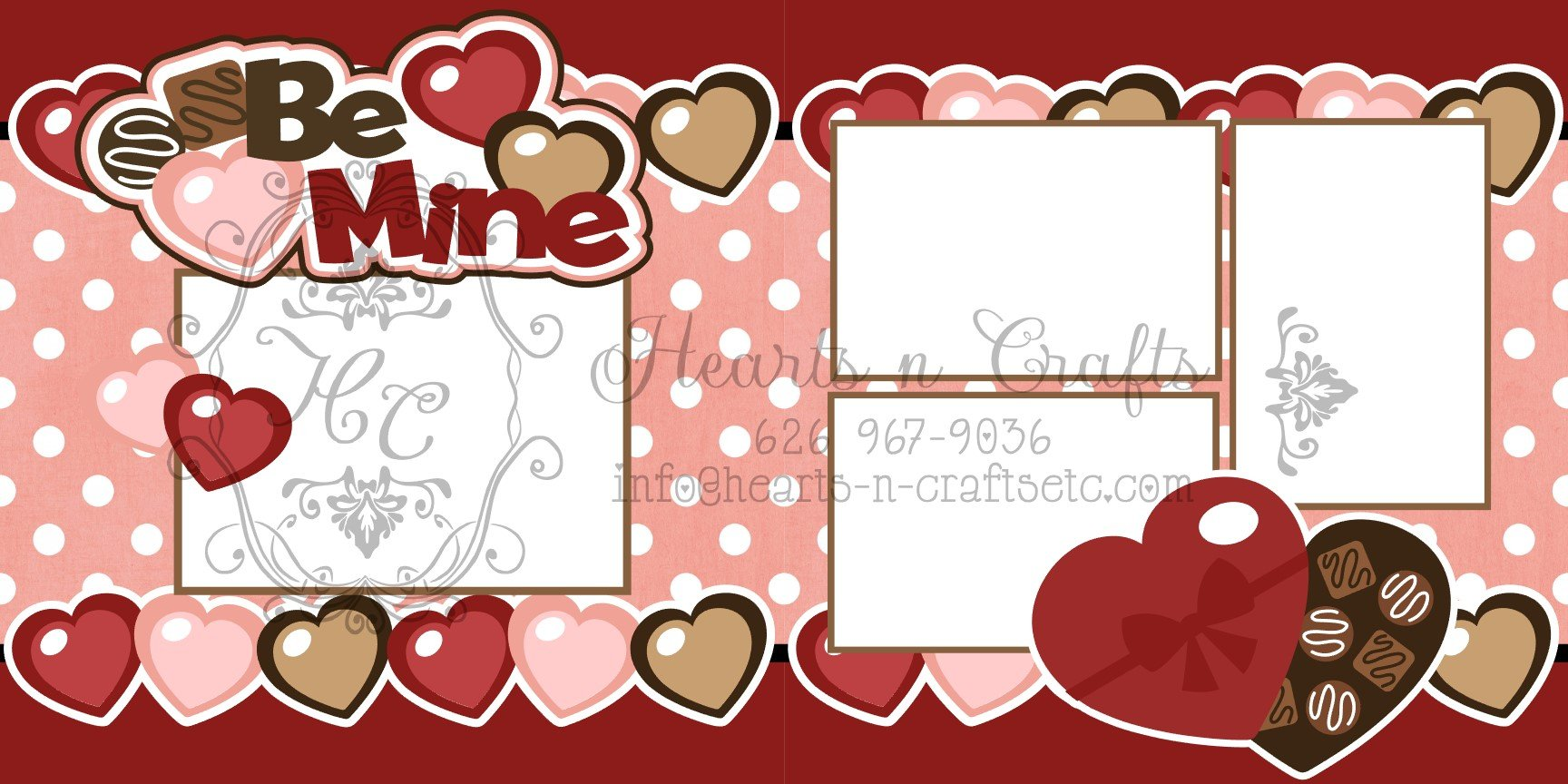 Be Mine - 2 Page Layout