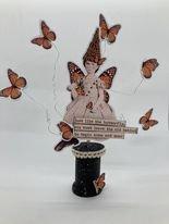 Butterfly Girl Home Decor