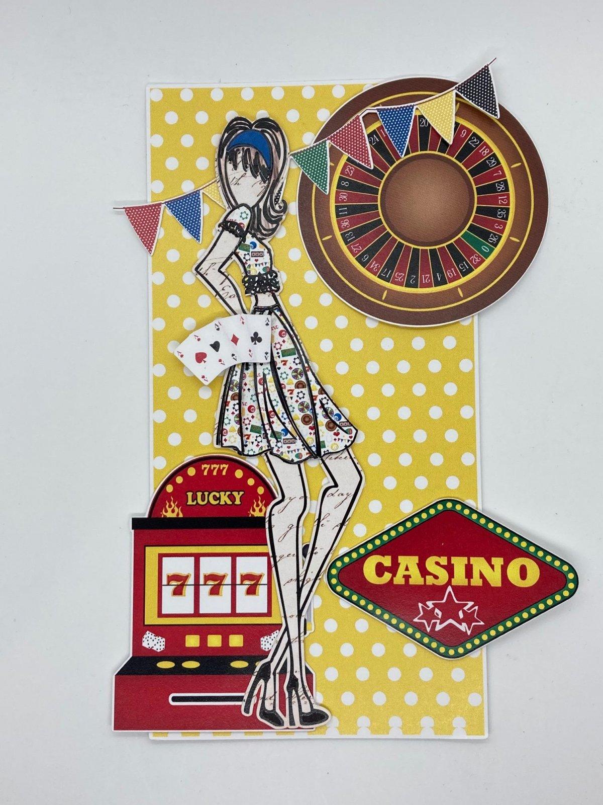 Julie Nutting tag - Casino Night