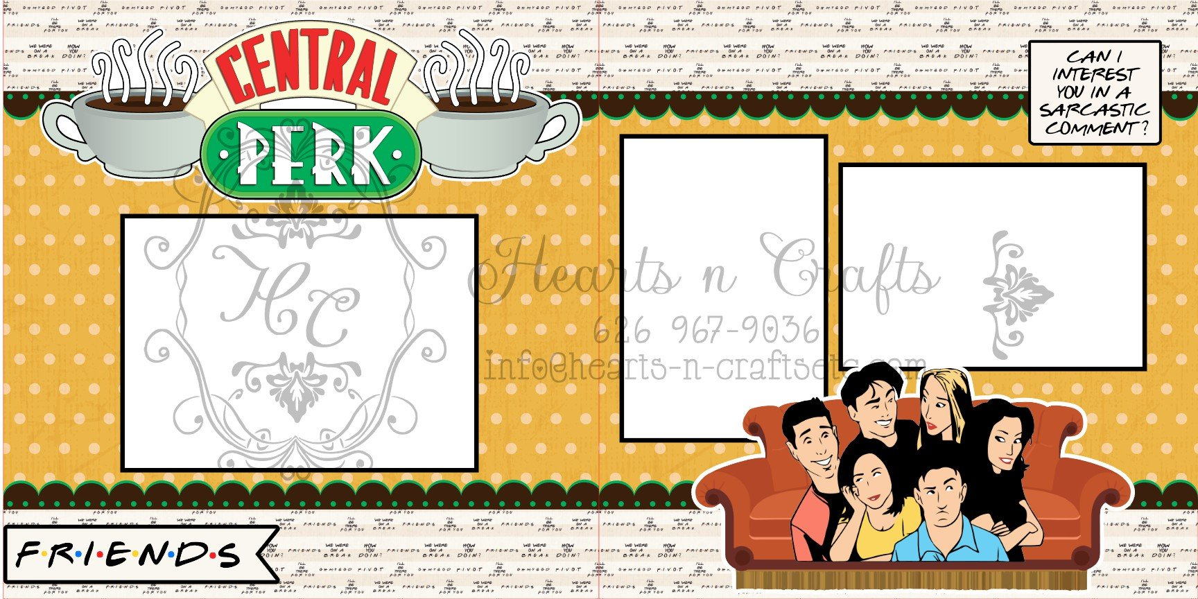 Friends-Central Perk 2pg Layout