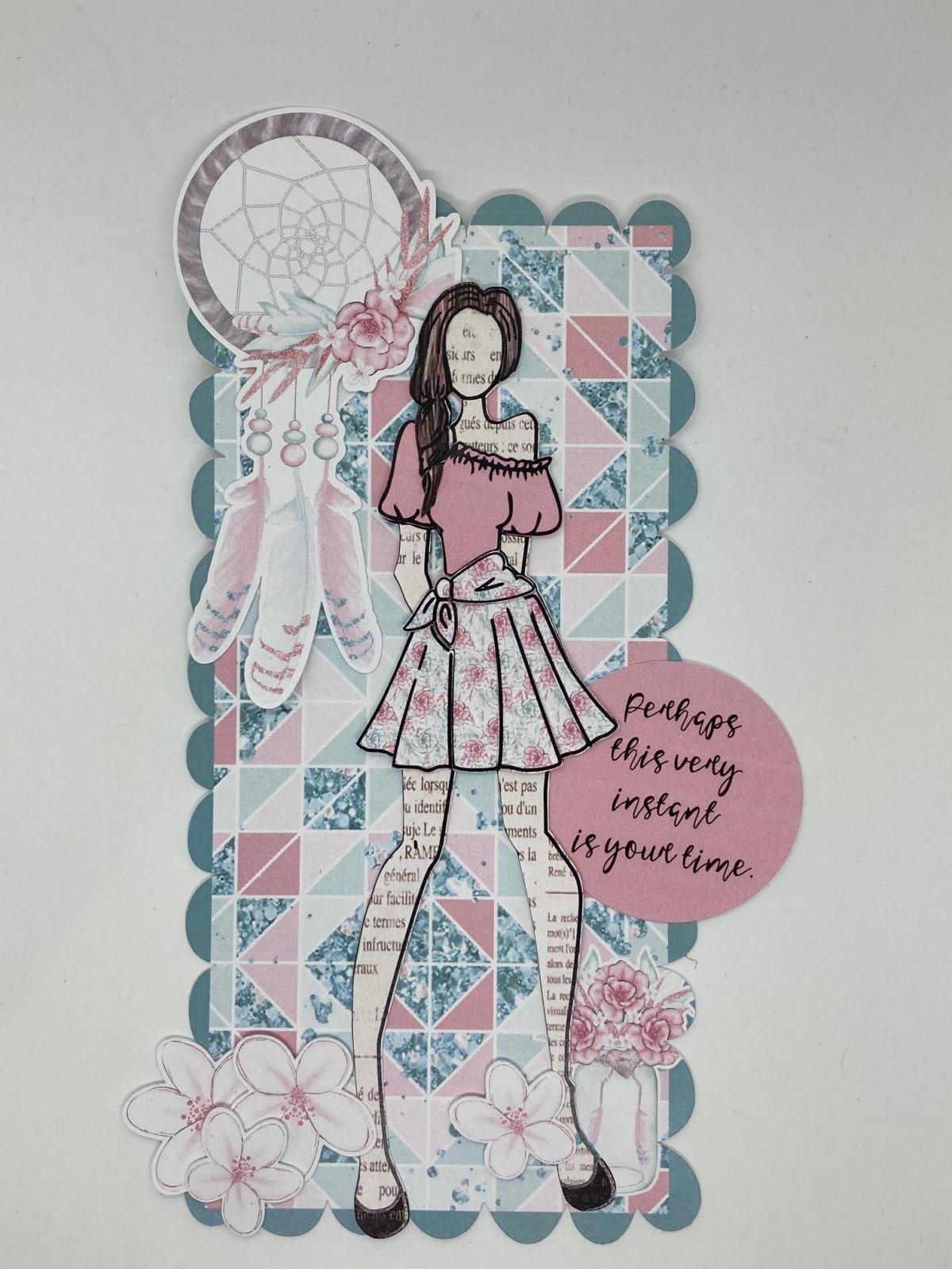 Julie Nutting tag kit - Dreamcatcher