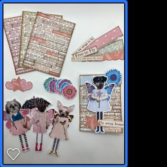 Fairy Dogs ATC kit