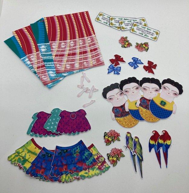 Frida Kahlo ATC Kit