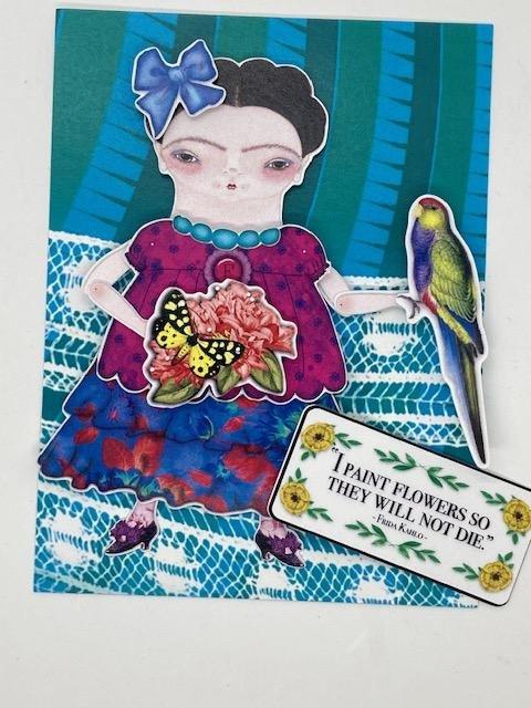 2 Frida Kahlo card fronts