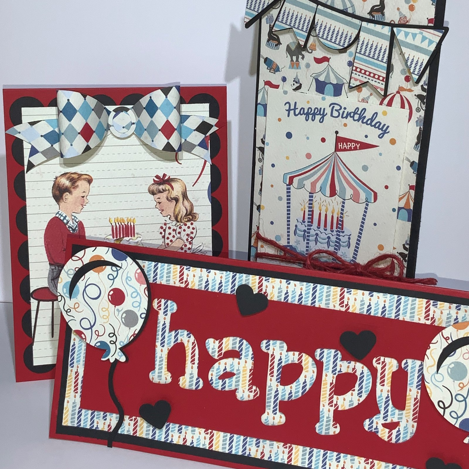 3 Card Kit - Authentique Hooray!