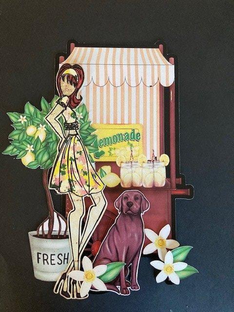 Julie Nutting Tag - Lemonade Stand