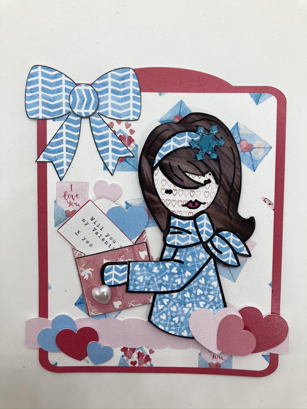 Julie Nutting tag kit - Valentine