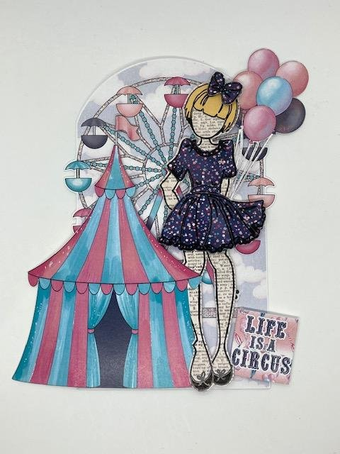 Julie Nutting Tag Kit - Life is a Circus