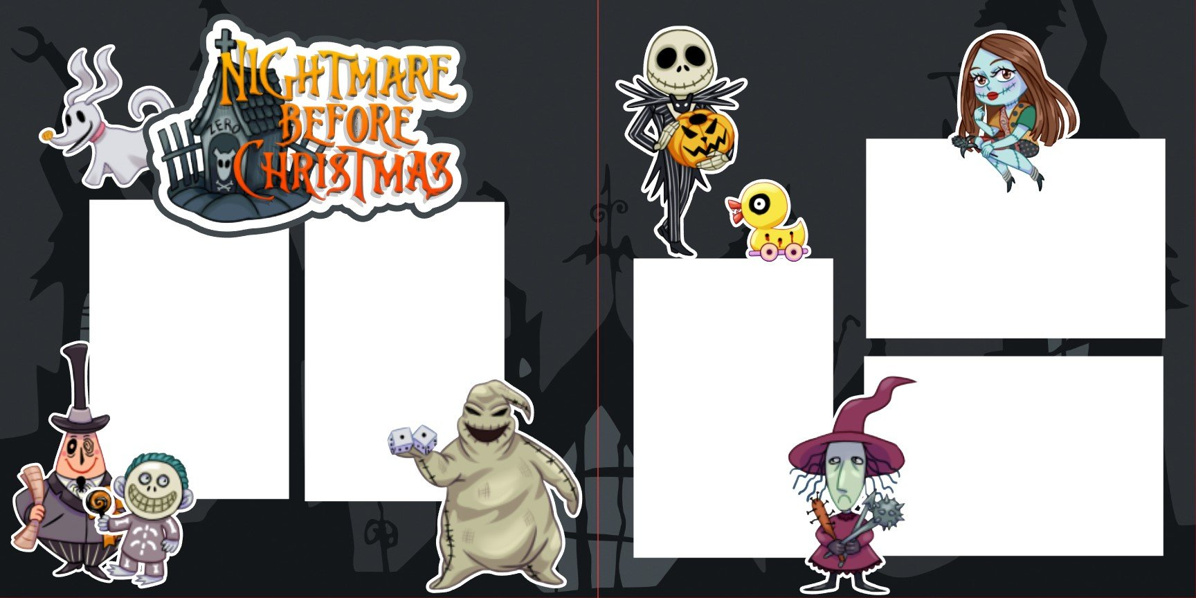 Nightmare Before Christmas v3 - 2 page layout