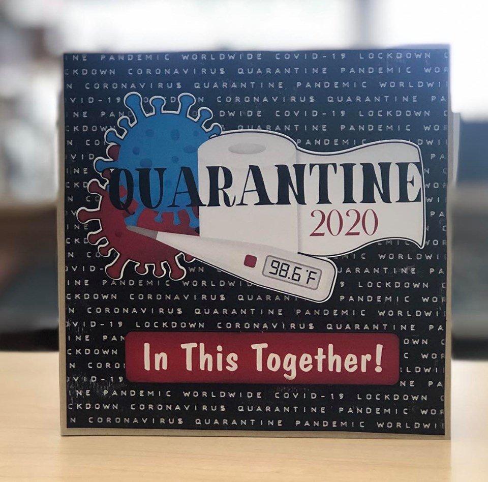 Quarantine 6x6 Mini Album