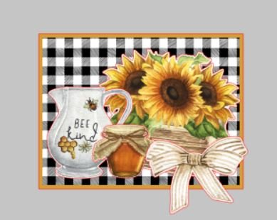 2 Card Kit - Queen Bee theme - (card fronts only)