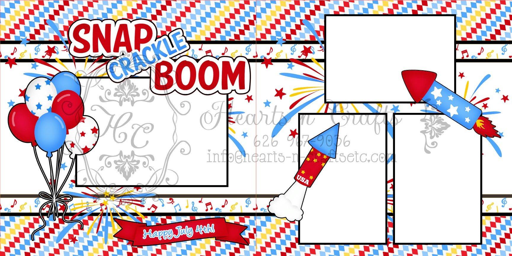 Snap Crackle Boom!