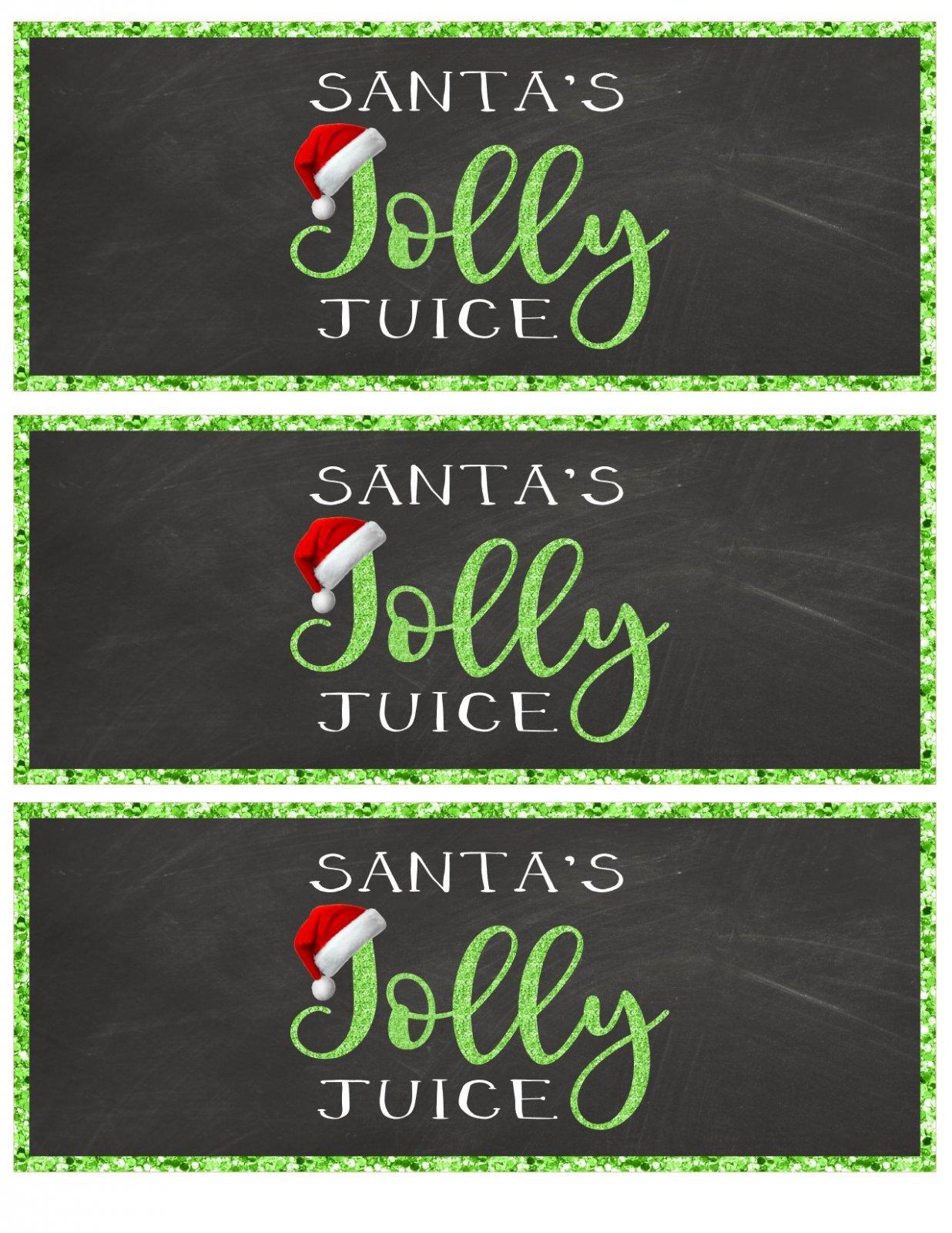 Santa's Jolly Juice PDF