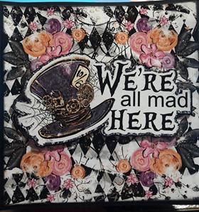 Alice in Wonderland Halloween Mini Album