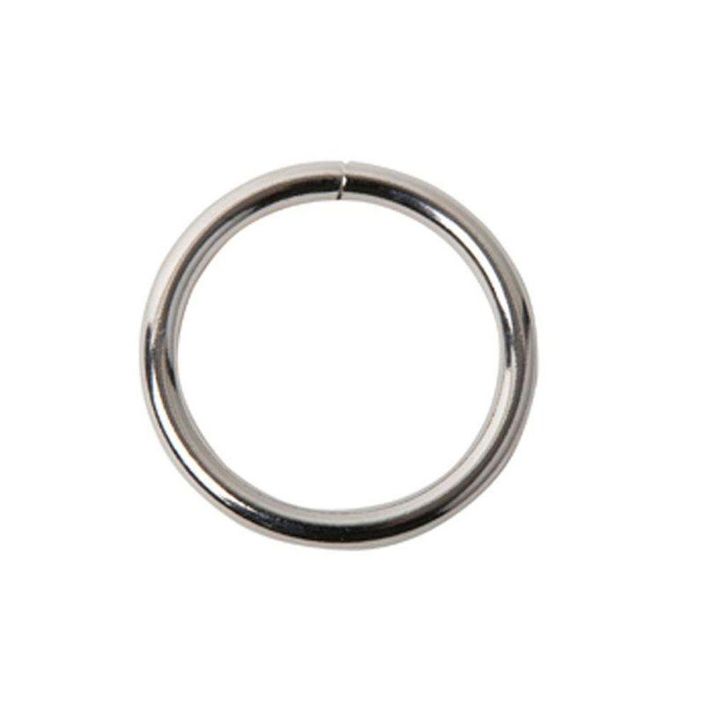 Trident - 2in Solid Stainless Ring