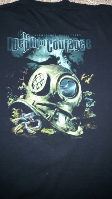 A/O T-Shirt Depth of Courage