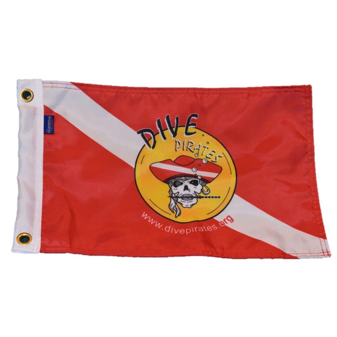 Dive Pirates - Official Dive Flag
