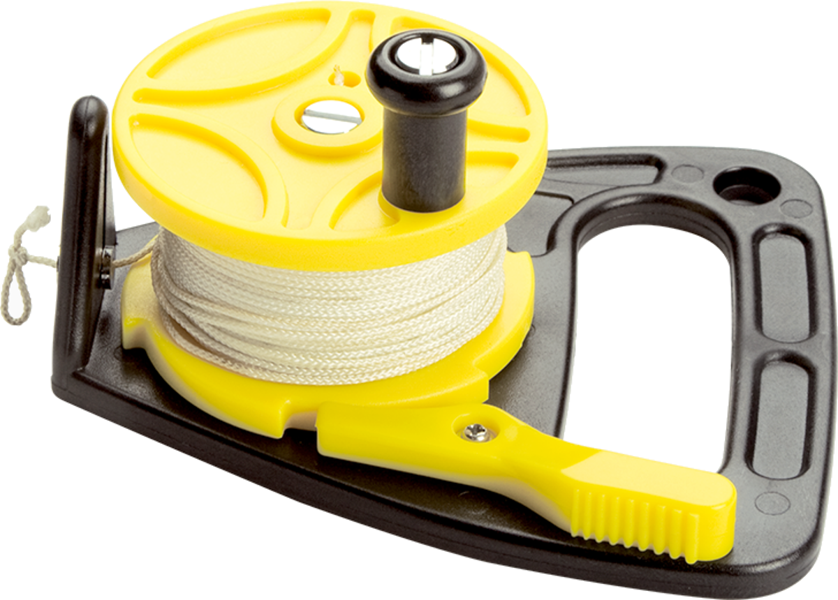 ScubaMax - 150ft Dive Reel with Stopper