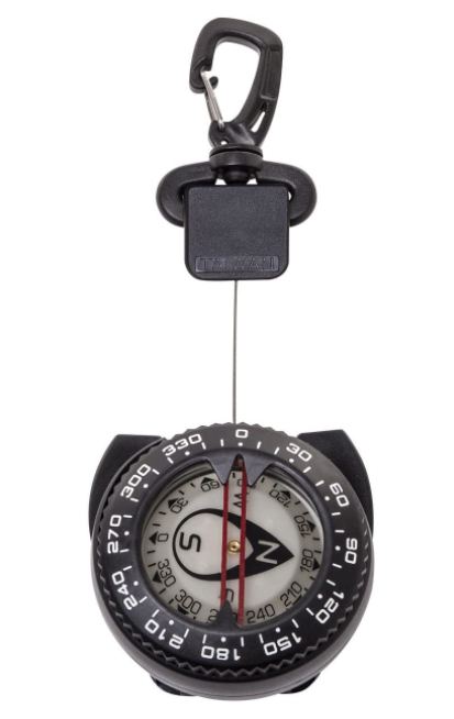 Trident - Retractor Compass w/ Gate Snap