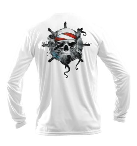 Sea Fear - Octo Skull L/S Performance Tee
