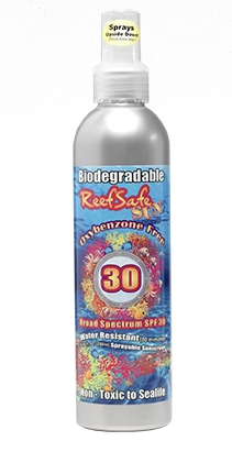ReefSafe - Oxybenzone Free Eco-Friendly Sprayable SPF 30 Biodegradable Sunscreen