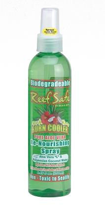 ReefSafe - Biodegradeable Burn Cooler Re-Nourishing Spray with Aloe Vera L